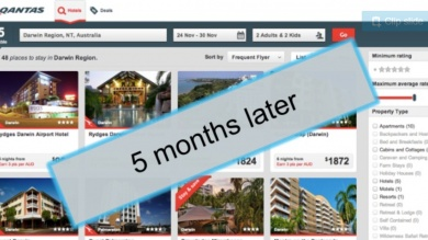 Qantas Hooroo airline software example