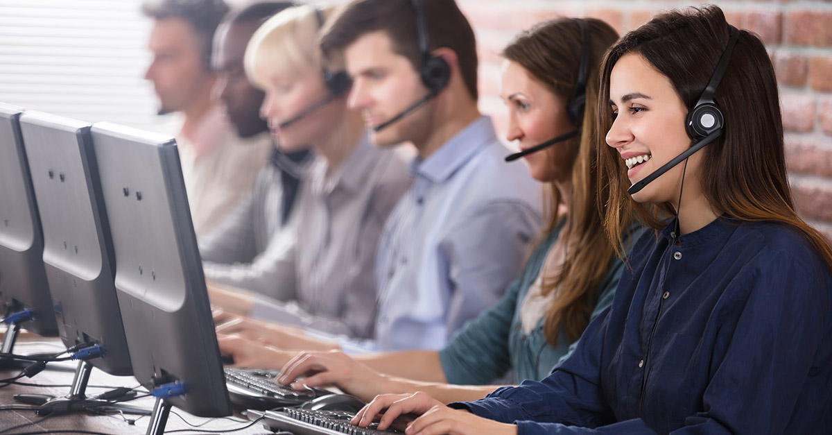 Supporting call center efficiency