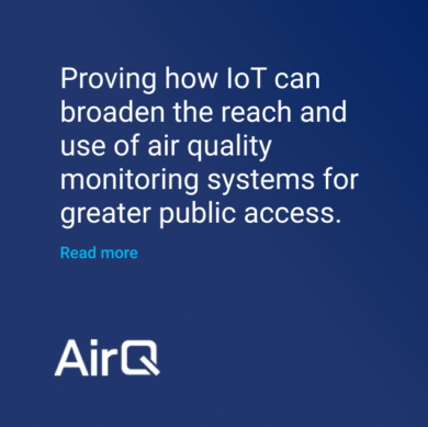 AirQ IoT air quality monitoring system